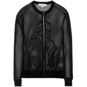 Stella McCartney Mesh Bomber Jacket