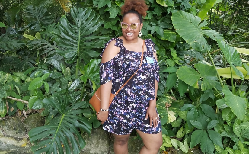 A Faux Romper – M7573 and S1069
